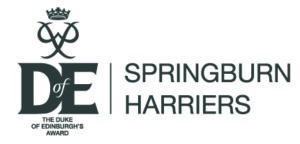 Logo: The Duke of Edinburgh's Award - Springburn Harriers